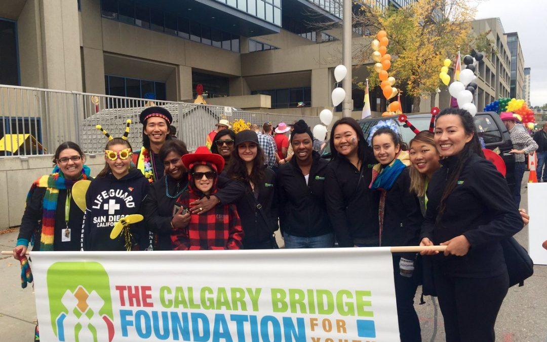 CBFY Attends Calgary Pride Parade