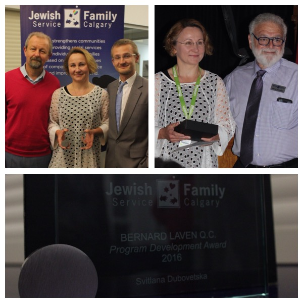CBFY Staff Awarded Bernard Laven Program Development Award