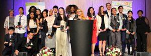 Youth achievement awards winners