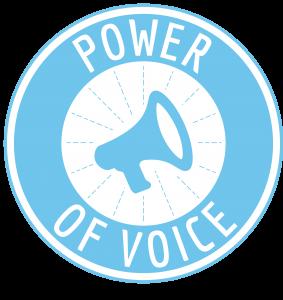 logo power of voice